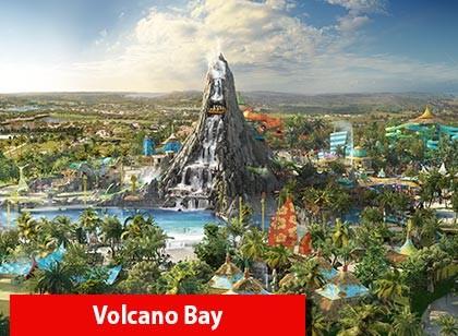 UNIVERSAL - 03 Park Explorer Ticket com Volcano Bay GRÁTIS (Ingresso eletrônico de 14 dias)